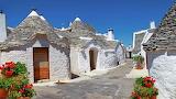 Italy Puglia Alberobello trulli