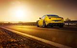 yellow car-Ferrari