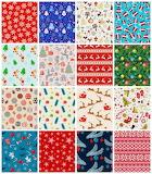 christmas fabric 1