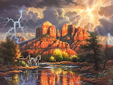 Sedona Majesty by Abraham Hunter