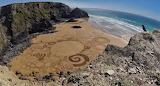 Tony Plant Sand Art, Cornwall, Kernow