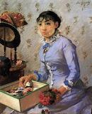 Eva Gonzalès, The Milliner, c. 1877