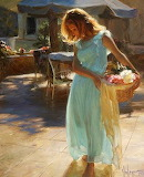 Girl In Turquoise Dress-Vladimir Volegov