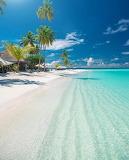 Beautiful tropical sandy beach