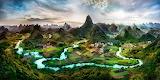 Karst-Li-River-Yangshuo-Guilin-Guangxi-China