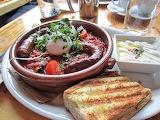 Foccacia and Tomato Stew