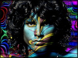 'jim morrison' doors abstract art 3d hd-wallpaper-1917392