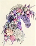 Beaded Unicorn
