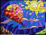 happy color mosaic