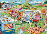 Cartoon Camping