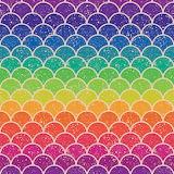 Rainbow Scallop Pattern