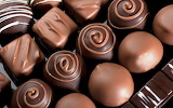 Chocolates delicious sweets