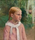 Albert Edelfelt, Fio in the woods, 1879