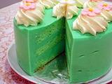 ^ Pandan kaya cake