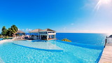 Swimming pool in paradise