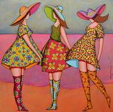 three girls, Franck Ayrolles