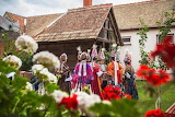 Croatia, Gorjani, Ljelje Kraljice, procession of the queens