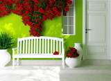 ^ Red Roses Bench