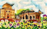Spring at Lodhi Gardens - by Bahaar Jain