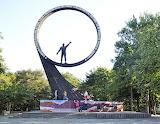 Kaliningrad, Monument pour Youri Gagarine