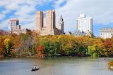 NYC Westside Skyline Autumn