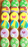Colorful cookies @ Kiara's Cakes