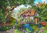 Flower Hill Cottage by Dominic Davison