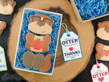 Otter Teacher Cookies