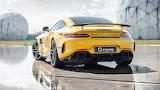 Yellow Mercedes AMG G-Power