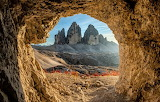 Three Peaks of Lavaredo, Dolomites, Italy