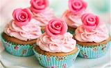 #Rosy Cupcakes