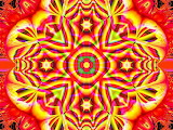 mandala kaleidoscope color