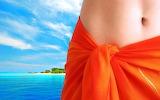 girl's belly