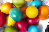 Colorful Easter eggs from Microsoft Jigsaw by auricle99