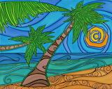 beach scene, Bernadette McCormack