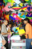 Kite shop in Lucknow India