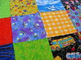 ☺♥ Patchwork quilt...