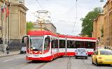 Russian tramway at Saint-petersburg