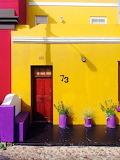 Yellow House, Red Door
