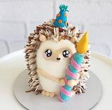 Hedgehog Birthday Cake!