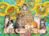Amy Rosenberg 'Kittens and Bees'