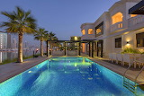 emirate luxury club ville pool arabian