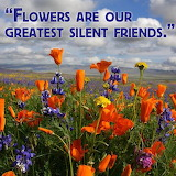 Flowers are our friends