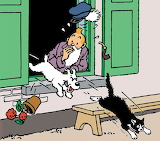 Tintin presque incognito