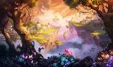 heavenly landscape, Ivan Laliashvili