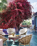 Majorelle - YSLs house in Morocco via Elle Decor