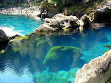 Turquoise Pool, Chile Located north east of the Mocho-Choshuenco