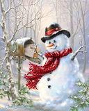 Snowman Mail