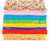 #Rainbow Ice Cream Cake