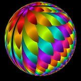 iridescent sphere